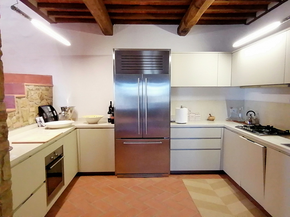 Casale Castelfalfi cucina